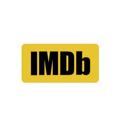 Astana kazakhstan -20 july 2020 imdb icon imdb vector