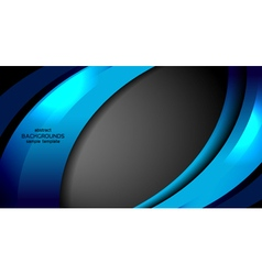Business modern abstract background vector
