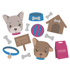 puppy mix vector image