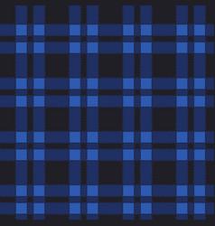 seamless pattern of blue tartan vector image