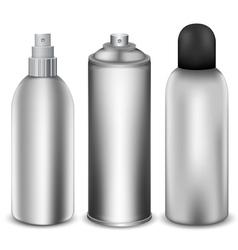 Spray bottle vector