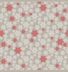 winter seamless christmas pattern vector image