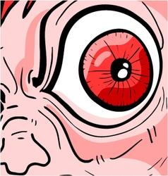 Greed eye vector