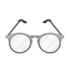 glasses for sightold age single icon in vector image