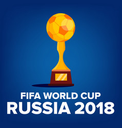 2018 fifa world cup background welcome to vector