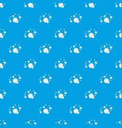Butane pattern seamless blue vector
