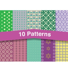 Chic patterns vector