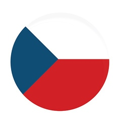 Czech flag vector image