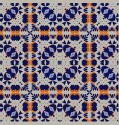 Gorgeous seamless pattern azulejo vector