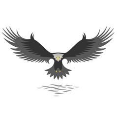 modern simple eagle logo design vector image