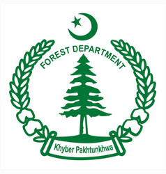 non timber forest products department kpk logo vector image