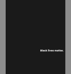 protest poster about nation racism vector image