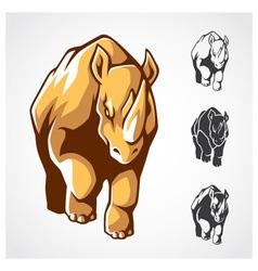 Rhinoceros Symbol vector