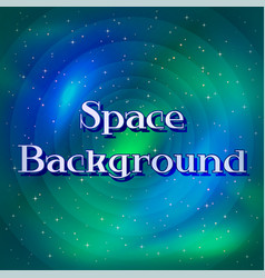 Space background with stars vector