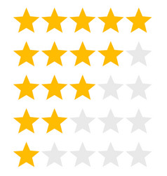 star rank background vector image