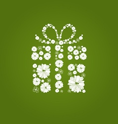 FlowerGift vector image vector image