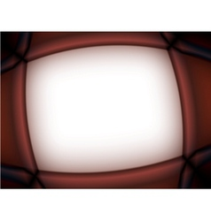 abstract brown frame vector image vector image