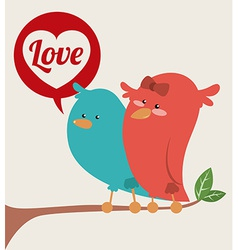 love poster vector image