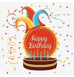 Birthday invitation design vector