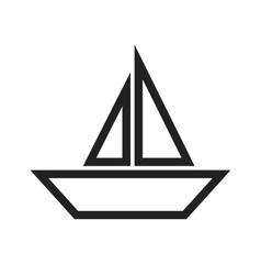 Boat Water vector