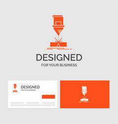 business logo template for cutting engineering vector image