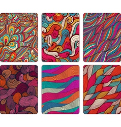 Fashion tablet skins Modern abstract backgrounds vector