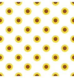 Flower pattern cartoon style vector image