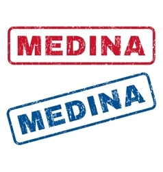 Medina Rubber Stamps vector