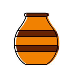 Vase icon image vector