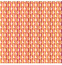 geometric cubes pattern retro seamless vector image