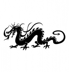 Chinese dragon vector