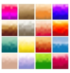 A set of abstract blur vector image