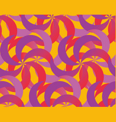 abstract spinning dynamic seamless pattern vector image