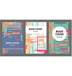 abstract template poster or cover design with with vector image