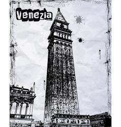 Amazing Venice vector