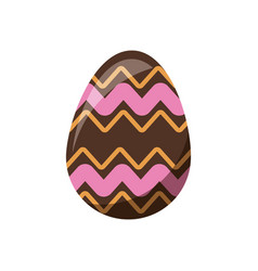 Easter decorative egg ornament element design vector