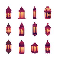 Islamic holy night ramadan kareem theme design vector