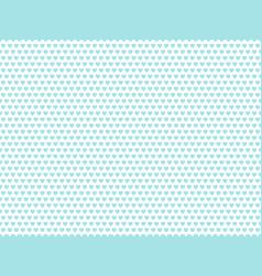 Light blue heart shape pattern vector