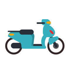 Scooter motorcyle vehicle vector