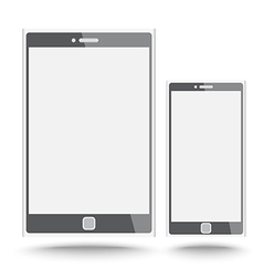 Smart phone and tablet vector image