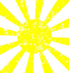 Sun Background with Grunge Effect vector