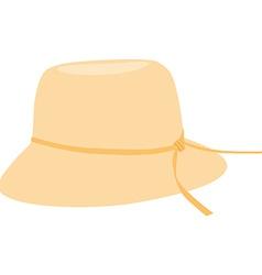 Bonnet hat vector image vector image