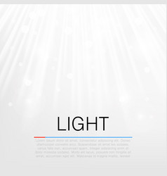 lens flare light background concept vector image