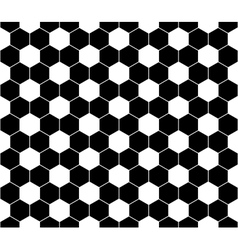 Seamless football pattern EPS 8 vector image