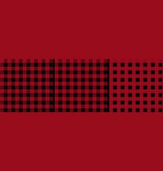 Checked lumberjack seamless pattern vector