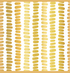 gold foil vertical lines abstract pattern vector image