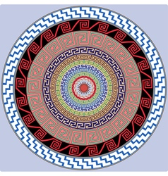 Mandala decoration design element vector image
