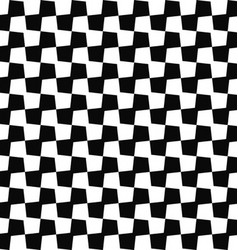 Seamless black white geometric pattern background vector
