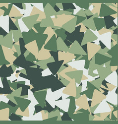seamless geometric pattern with triangles shapes vector image