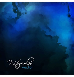 Watercolor Painting Background vector image